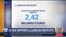 Lundi de Pentecôte : la journée de solidarité doit rapporter plus de 2 milliards d'euros