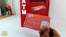 How to make kitkat vending machine diy | kitkat ATM machine at home | slime vending machine
