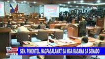 #PTVNEWS: Sen. Sotto, bagong Senate President