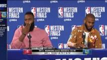 James Harden - Chris Paul Postgame Interview | Warriors-Rockets Game 3 | 2018 WCF | FreeDawkins
