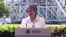Theresa May wants 'positive' vision for the UK post Brexit