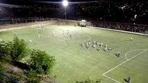 En breve arranca el partido de vuelta de la semi final de la liga de ascenso por la zona centro entre el INFOP y el Yoro F.C., juego a realizarse en el estadio