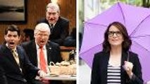 'SNL' Rewind: Tina Fey Hosts, Donald Trump Meets 'Sopranos,' Royal Wedding Satirized | THR News