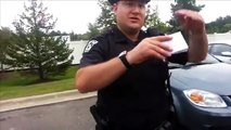 This ex-cop owns these cops when they try to harass him