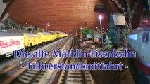 Die alte Märklin Eisenbahn - Eine Führerstandsmitfahrt auf einer Spur H0 Anlage - Ein Video von Pennula für alle Modelleisenbahner und Modellbauer
