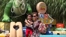 Amusement Theme Park: Hong Kong Disneyland Kiddie Car Ride w/ Garet + More Attrions!