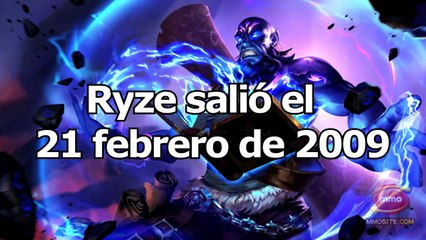 La EVOLUCIÓN de RYZE [2009 - 2017] Reworks Ryze | League Of Legends