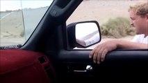 En BMX il s'accroche à une voiture à plus de 80kmh et chute