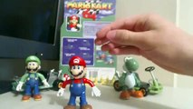 Mario Kart 64 Toy Biz Figure Review - Mario Luigi & Yoshi
