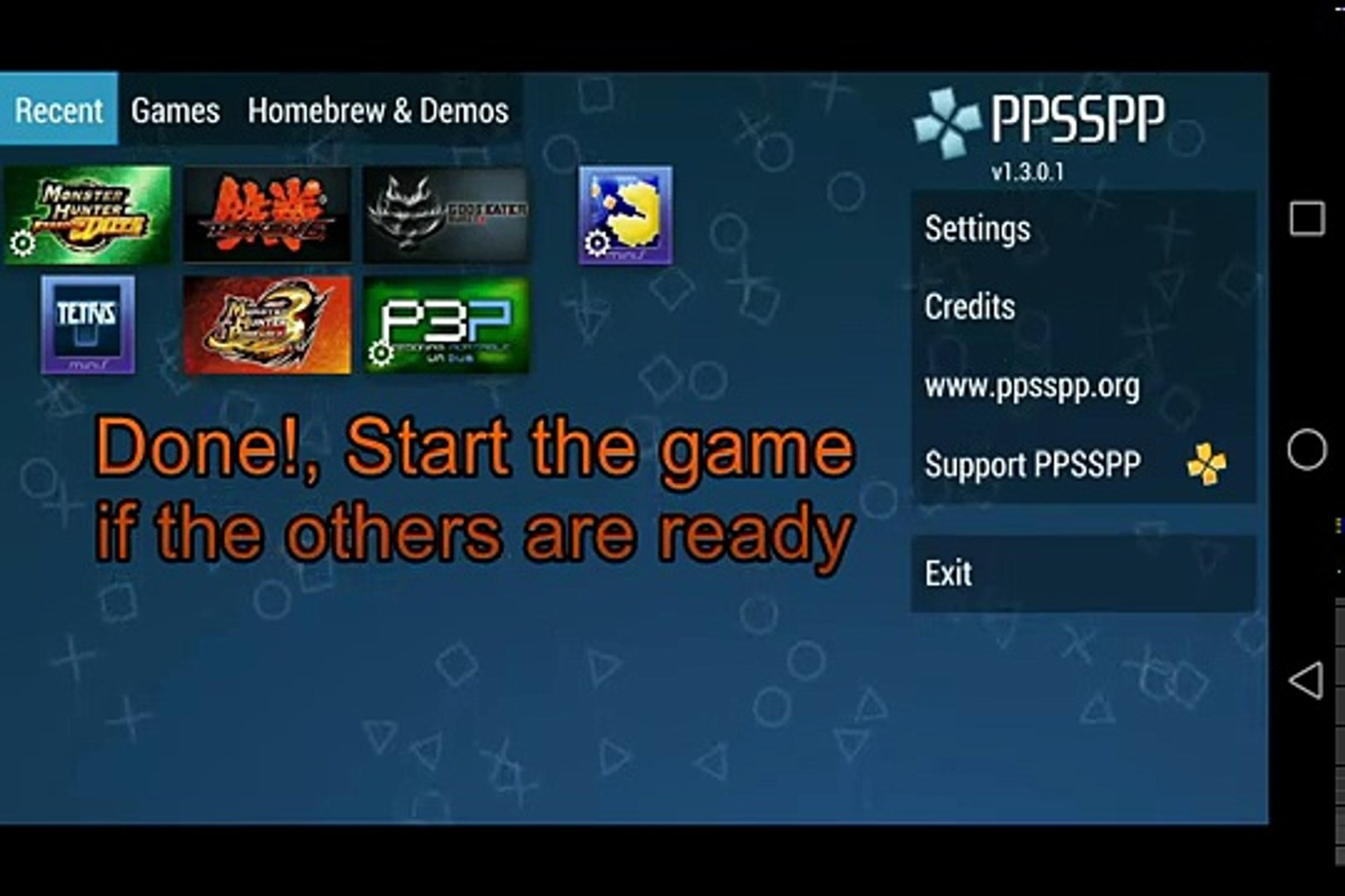 PPSSPP Local Multiplayer using Wireless Router - Android as Host