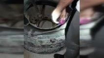 Kamyon lastiklerinde kaçak sigara sevkiyatı... 6 bin paket kaçak sigara ele geçirildi