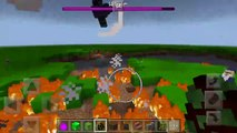 What Happens When You Spawn the God Boss, Wither Storm, Slime Boss & Magician Supreme in MCPE?