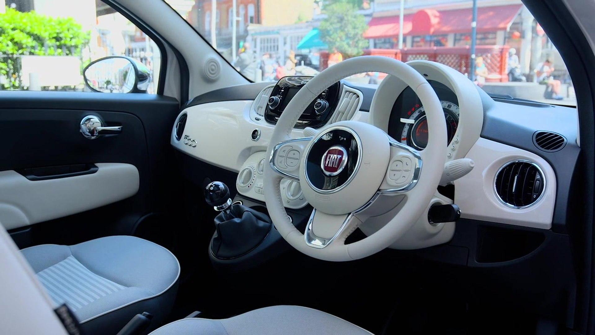 Spiksplinternieuw Fiat 500 Collezione Interior Design - video dailymotion GI-01