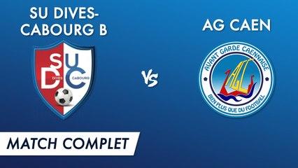 Régional 2 J16 : SU Dives-Cabourg B - AG Caen (match complet)