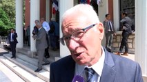 Gaby Charroux, maire de Martigues et président du Conseil de Territoire du Pays de Martigues.