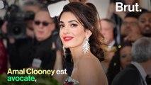 Avocate renommée et engagée, professeure de droit… Qui est Amal Clooney ?