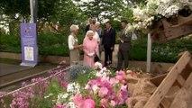 Regno Unito: la Regina Elisabetta visita il Chelsea Flower Show