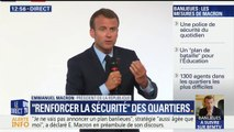 """Plan banlieue: """"Nous devons construire une société de la vigilance"""", estime Emmanuel Macron"""