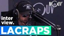 """LACRAPS : """"Dans ma playlist de douche, il y a peu de rap conscient"""" #SELECTIONRAP"""