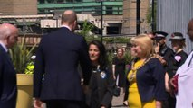 Prince William arrives for Manchester Arena memorial service