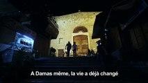 Des Syriens réagissent après la reprise totale de Damas