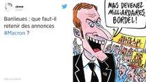 Banlieues. Les premières réactions politiques au discours D'Emmanuel Macron sur les banlieues.