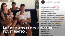 PHOTO. Cristiano Ronaldo : ses jumeaux Eva et Mateo ont bien grandi !