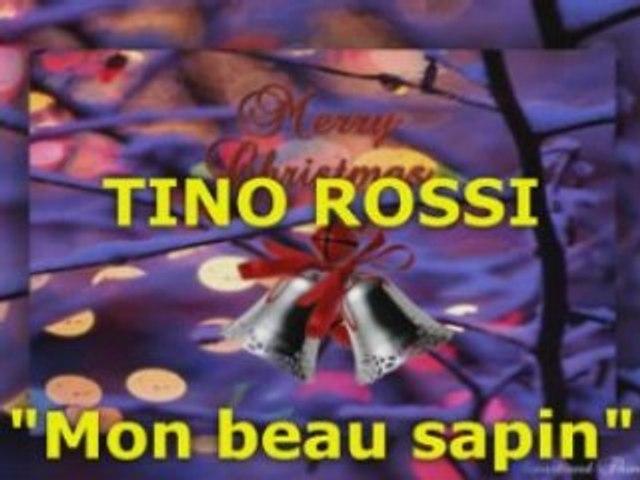 """TINO ROSSI """"Mon beau sapin"""" (Version Originale)"""
