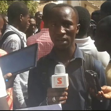 Les étudiants de l'Ucad crachent sur les 10 millions de Macky Sall remis à la famille de Fallou Sène