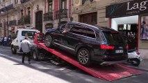 Embargan dos vehículos de Eduardo Zaplana tras registrar su vivienda en Valencia