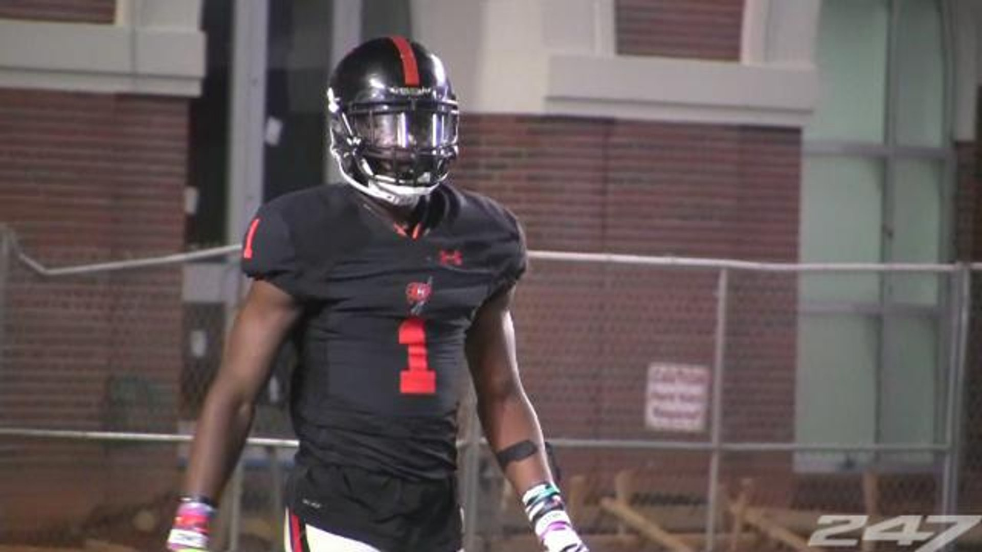4-star WR George Pickens Spring Game 2018