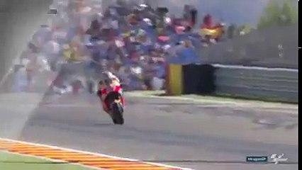 Marc Marquez au freinage slow motion