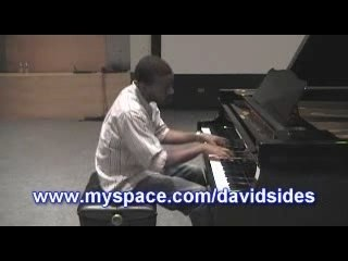 Chris Brown - Say Goodbye on piano By David Sides