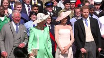 Duke and Duchess of Sussex make their debut at garden party