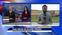 1 Dead After Plane Crashes, Burns Near Virginia Airport
