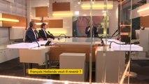 François Hollande   Il nexclut jamais rien  Il se créé des opportunités  Il constate quil y a un vide de lopposition et avec son livre, il occupe cet espace là, explique Christophe Pierrel #lesinformés