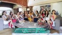 Miss Universo 2017 estuvo con las chicas de Mexicana Universal