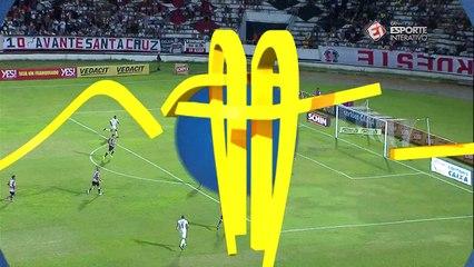 GOLEADA FORA DE CASA! ABC marca o 3º sobre o Santa!