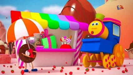 bob le train - train de nourriture - rimes pour les enfants - Bob Train - Food Train - Kids Songs