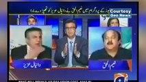 PTI Naeem ul Haq Slap PMLN Daniyal Aziz During Live Show