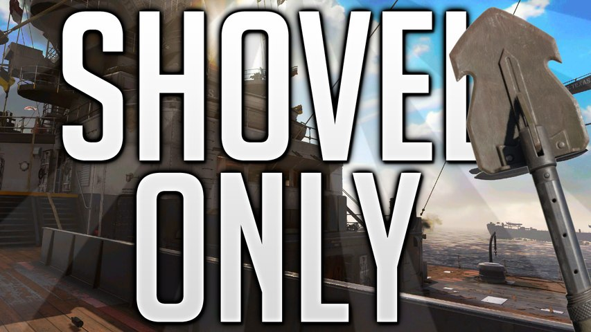 SHOVEL ONLY Experiment FTW! - Call of Duty WW2 - By Bonntanamo!