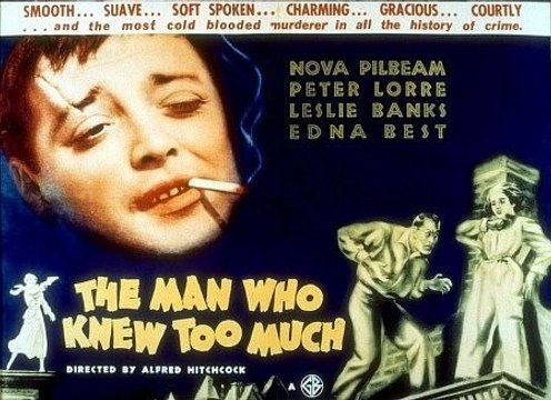 Alfred Hitchcock's The Man who New too Much