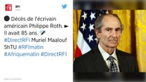 Philip Roth, écrivain majeur de la littérature américaine, est mort à 85 ans.