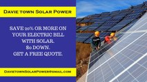Affordable Solar Energy Davie Town FL - Davie Town Solar Energy Costs