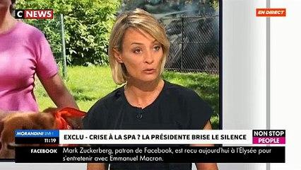 EXCLU - Les larmes aux yeux, Natacha Harry, la présidente de la SPA, réagit à la polémique - VIDEO