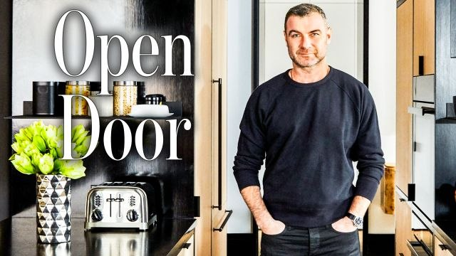 Inside Liev Schreiber's Industrial NYC Apartment