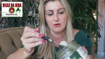 como deixar os dentes branco em minutos Pasta de dente caseira com dolomita