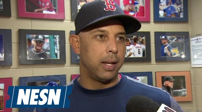 Alex Cora address Red Sox 4-2 win over Rays