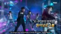MBC News Desk: BTS RM, Suga & Jimin Interview LEGENDADO PT BR