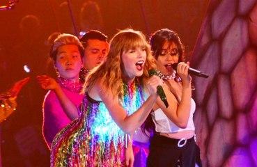 Taylor Swift envía 'sus mejores deseos' a Camila Cabello desde el escenario